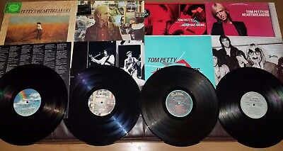 Tom Petty 1980'S Lp Lot Damn The Torpedoes, Hard Promises, Southern, Long After