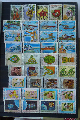 briefmarken lot laos gestempelt