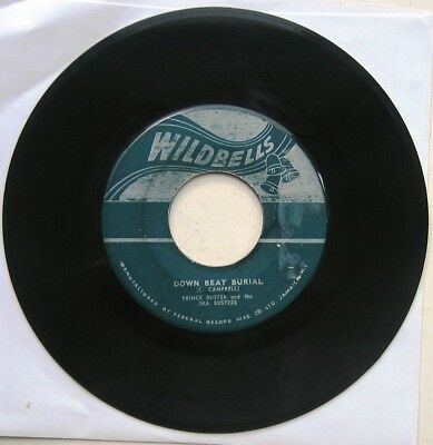 Prince Buster / Down Beat Burial / Want To Ska [Wild Bells] Rare !