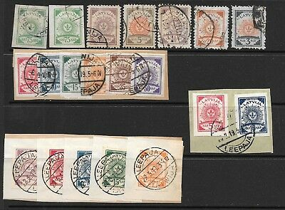 Latvia. 1919-1921. First Types. Used Selection.