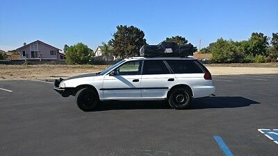 1996 Subaru Legacy Brighton Automatic Custom Lifted Off Road Battlewagon Roof Top Tent Overlanding