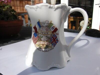 1914-18 Ww1 Peace Mug  -  Fine Bone China - Excellent Condition
