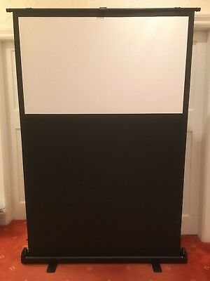 """Sapphire 60"""" Pull-up mobile projector Screen - 122 x 69cm (16:9) - SFL122WSF"""
