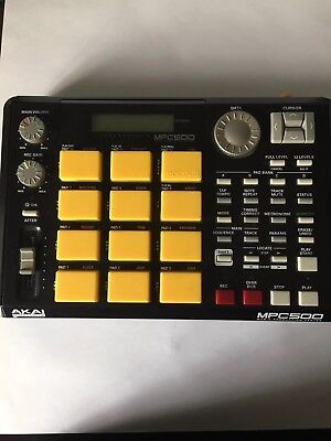 Akai Mpc 500 with upgraded pads