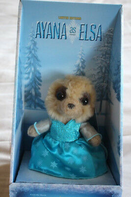 Compare the Meekat Ayana as Elsa from Frozen  Meerkat from Yakov's Toy Shop BNWT