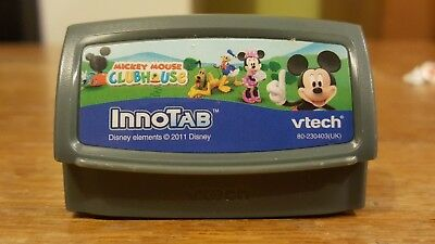 VTECH INNOTAB 1 2 3 3s + MAX TABLET CONSOLE Game Cartridge DISNEY MICKEY MOUSE