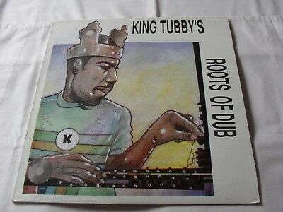 King Tubby's Roots Of Dub 1995 Jamaican Justice Dub/reggae Lp Bsmt 006