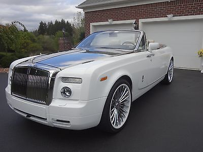 2008 Rolls-Royce Phantom DROPHEAD ROLLS ROYCE DROPHEAD / FLAWLESS / 1 OF 1