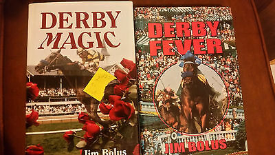 Derby Fever Jim Bolus 2 copies 1997 Edition and 1995 Edition
