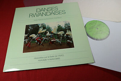 Amasimbi N'Amakombe  DANSES RWANDAISES - LP Collection INRS LPS-02 sehr gut