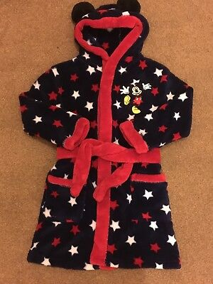 Mickey Mouse Dressing Gown 18-24 Months