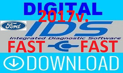 NEW 2017 FORD IDS 106.02 & calibration 81 FULLY Activated! Fast Download!