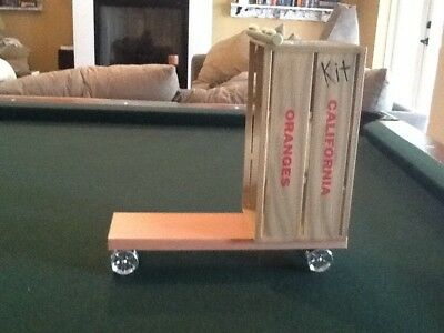 American Girl Doll Kit  Scooter Made From Orange Crate For Grace Dog
