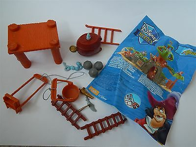 Disney Heroes Peter Pan Pirate, Tree House Island Parts For Spares Or Repairs