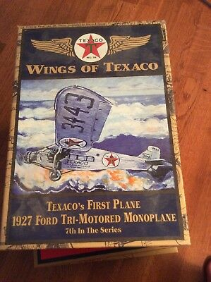 wings of texaco airplane Ford Tri-Motored Monoplane 7th In Sereis