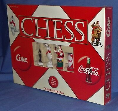 Chess Set Coca Cola Collectors Edition  Factory Sealed