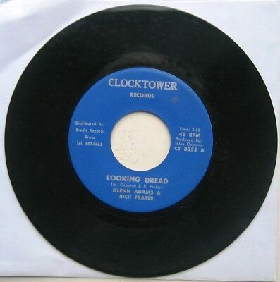 GLEN ADAMS & RICK FRATER / LOOKING DREAD /  Dread version [CLOCKTOWER] 7""