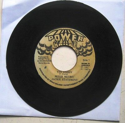 """PETER METRO & Jackie Statement / YES DADDY / version [POWER HOUSE] 7"""""""