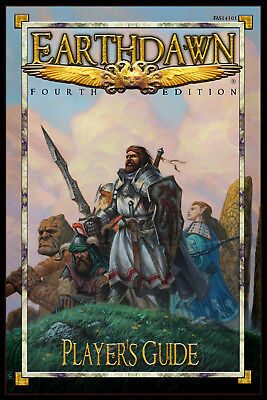 Earthdawn Fourth Edition - Player's Guide - New / Neu