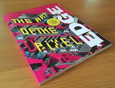 New Unread Edge Magazine Special Edition The Art Of The Pixel Video Games Mag!!