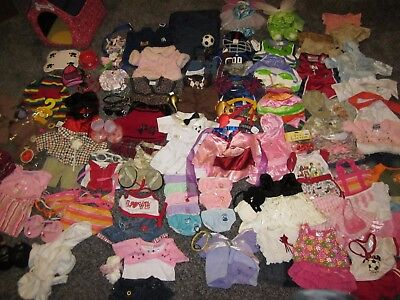 Huge Lot 150 Pieces Build & Bear Clothing + Accessories Shoes Costumes *clean*