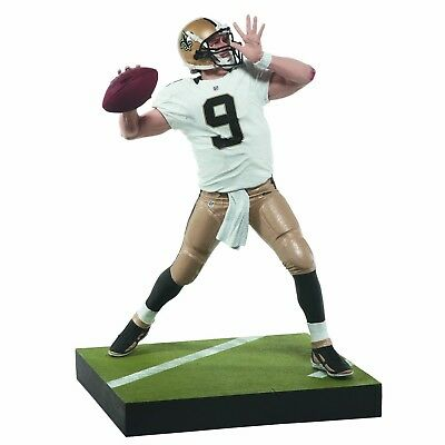 drew brees mcfarlane toy figure New Orleans saints unboxed