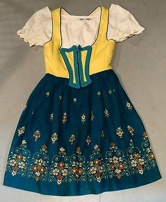 Authentic Strasser Trachten Dirndl Dress German Octoberfest Vintage Sz40