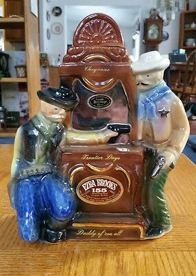 "1970 ""Cheyenne, Wyoming Frontier Days/Shootout"" Ezra Brooks decanter"