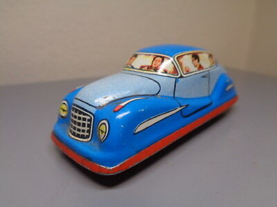 Technofix Germany Vintage Tinplate Penny Toy Car Ge 295 Very Rare Very Good