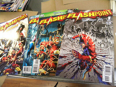 DC 2011 all 5 issues FLASHPOINT 1 2 3 4 5 Geoff Johns Andy Kubert qq Flash