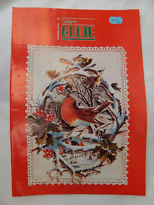 Girl Guides Magazine. December 1985. Christmas Edition. Rare. FREE P&P