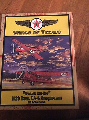 wings of texaco airplane
