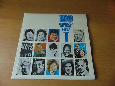 Various - 100 Fabulous All Time Hits Record 1 LP Vinyl SM.249 1950's