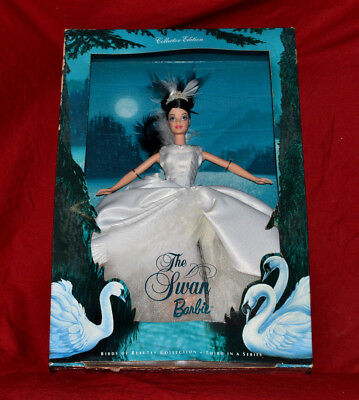 Mattel 2000 The Swan Barbie Birds of Beauty Collection 3rd in Series * NRFB
