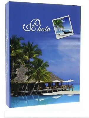 "Slip In Photo Album Holds 200 6"" x 4"" Photos Holiday Memories Great Gift Idea"