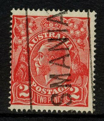 KGV Head Single Wmk 2d Red Used **WITH ACSC VARIETY** SG 63 #12337