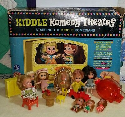 Large Lot Of Kiddles; Dolls Komedy Theater Misc Kiddle Stuff Storykins