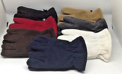 Toddler Fleece Gloves Ages 1 To 3, Many Great Colors**your Choice, Great Quality