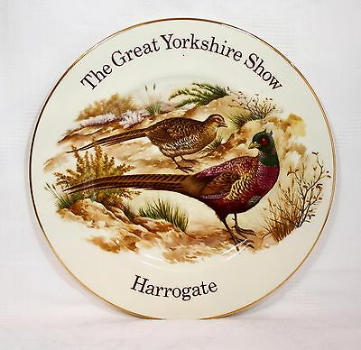 Vintage Fenton China Great Yorshire Show Harrogate Plate