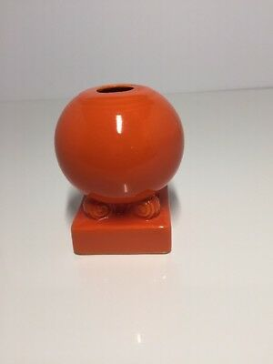 Orange Ball Bulb Candle Holder Fiesta FIESTAWARE Radioactive Red