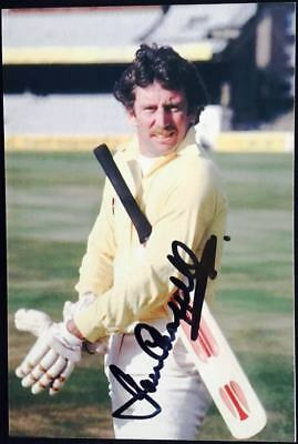 Australia Cricket Captain and Legend Ian Chappell Signed Photo