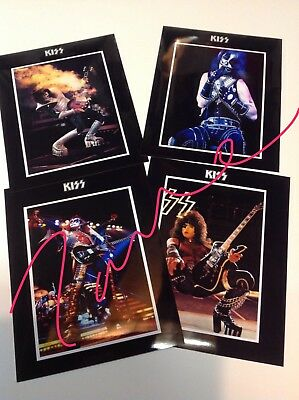 1977 KISS Army Press kit Alive II promo Photos, Ace Peter Paul Gene
