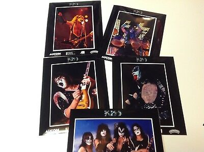 1975 KISS Army Press kit Alive promo Photos, Ace Peter Paul Gene