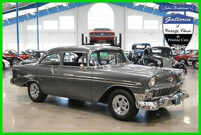 1956 Chevrolet Bel Air/150/210 Post Car 1956 Chevrolet Bel-Air Resto-Mod 383 Stroker Pro Charger 4-Speed Manual Chevy