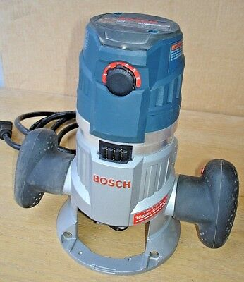"""Nice Bosch Mr23Evs Plunge Router 1/2"""" Shank Capacity Soft Trigger Wood Tool"""