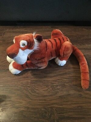 "Disney Jungle Book Shere Khan Tiger Large 18"" Plush Disney Store Exclusive"