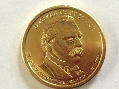 2012D Grover Cleveland. US Presidential dollar coin. ( 2nd term).
