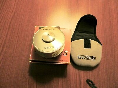 G. Loomis Adventure 5 Fly Reel W/Box-Pouch-Paperwork