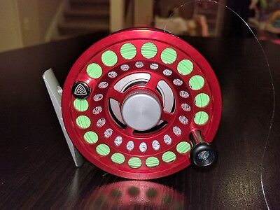 Taylor fly reel Enigma Ruby Red *Relist due to non payment*