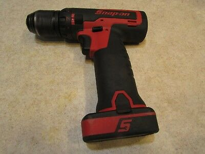 "Lot#4 Snap-On Tools Cdr761A 14 Volt 3/8"" Drill With Battery... Not Over Used"